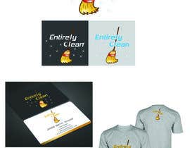 Nro 29 kilpailuun Design a Logo and Business Card for Cleaning Company. käyttäjältä Warna86