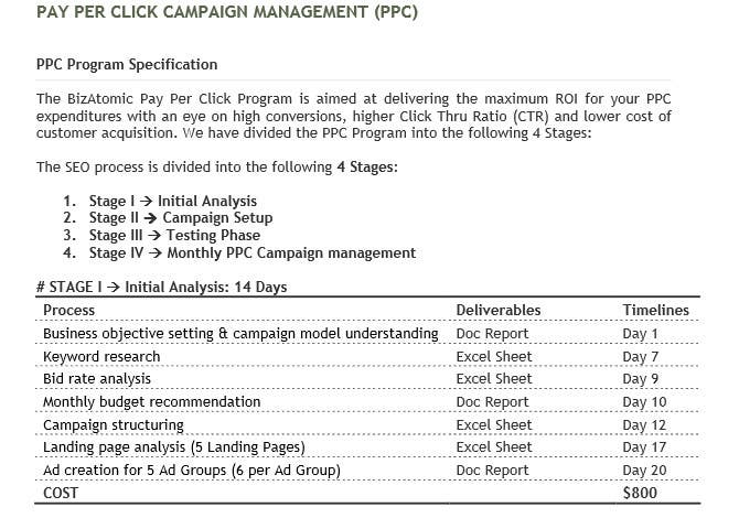 Proposition n°45 du concours Create/Manage a  PPC Campaign for Top USA Firm