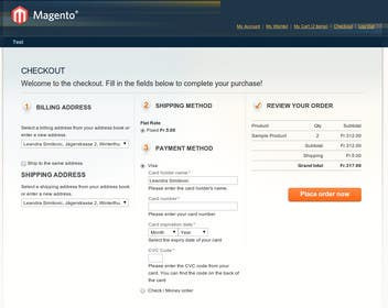 kabiramin tarafından Magento paypal configuration için no 16