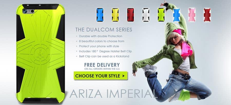 #24 for Design a Banner for Mobile Case Website by nguyetvan