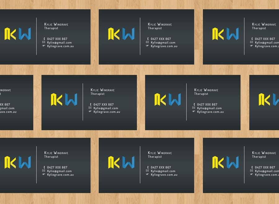 Penyertaan Peraduan #18 untuk Business Card design