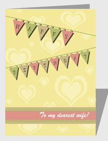 #11 for Design some Stationery for Adult Birthday card by luciacrin