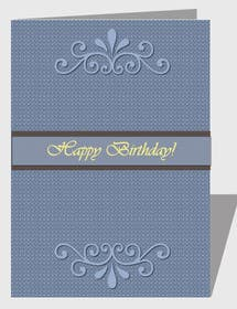 #13 for Design some Stationery for Adult Birthday card by luciacrin