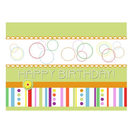 #12 for Design some Stationery for Adult Birthday card by primavaradin07