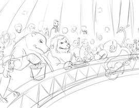 #10 для Illustration Design for Childrens Book - Circus Scene от antoniopiedade