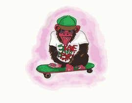 #1 untuk I need an illustration/design of a chimpanzee oleh umby