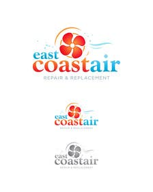#107 for Design a Logo for East Coast Air conditioning & refrigeratiom by eshtiyak