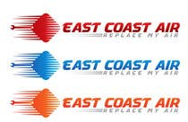 Graphic Design Kilpailutyö #330 kilpailuun Design a Logo for East Coast Air conditioning & refrigeratiom