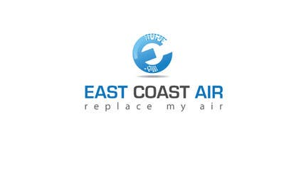 #787 for Design a Logo for East Coast Air conditioning & refrigeratiom by risonsm