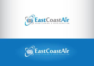#68 for Design a Logo for East Coast Air conditioning & refrigeratiom by GeorgeOrf