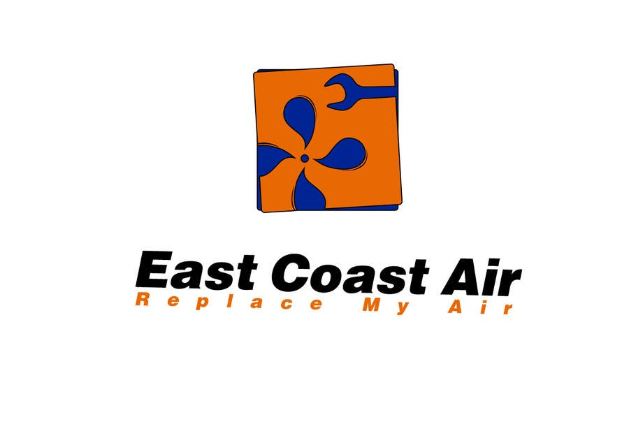 Kilpailutyö #624 kilpailussa Design a Logo for East Coast Air conditioning & refrigeratiom