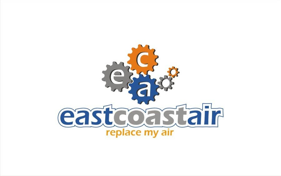#496 for Design a Logo for East Coast Air conditioning & refrigeratiom by saryanulik
