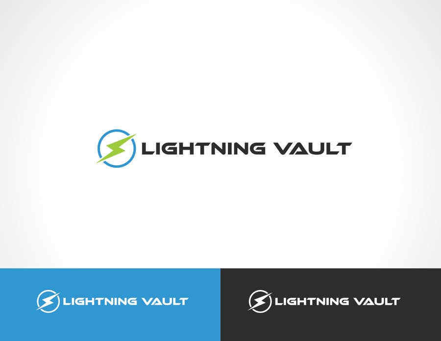 #3 for Design a Logo for LightningVault by paxslg