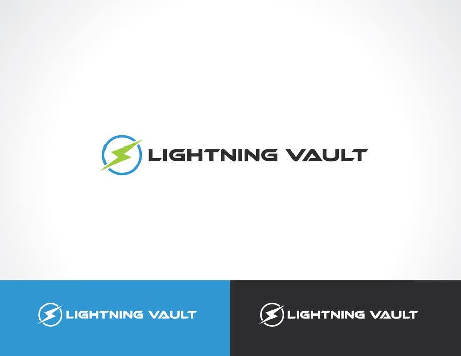 #3 for Design a Logo for LightningVault by paxslg