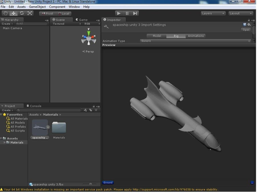 #8 for Do some 3D Modelling for Heavy Star Fighter by pir9008