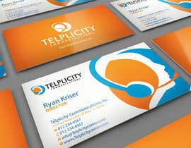 midget tarafından Design some Business Cards for Telplicity Communications, Inc. için no 9