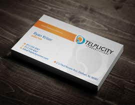 nº 27 pour Design some Business Cards for Telplicity Communications, Inc. par midget