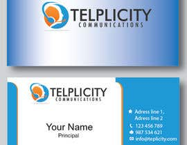 nº 16 pour Design some Business Cards for Telplicity Communications, Inc. par StaBV