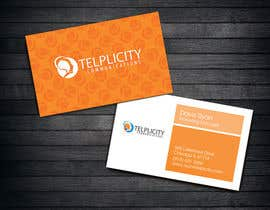 nº 52 pour Design some Business Cards for Telplicity Communications, Inc. par michelleau