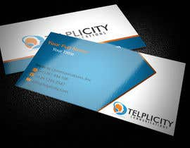 nº 53 pour Design some Business Cards for Telplicity Communications, Inc. par regionmym