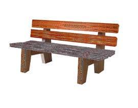 Nro 10 kilpailuun Design Aboriginal Art -  Bench Seats käyttäjältä Hamthee