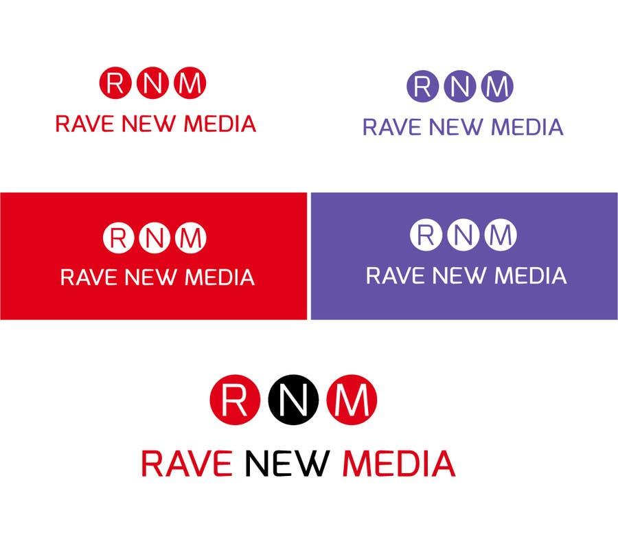 Bài tham dự cuộc thi #185 cho Design a Logo for Rave New Media