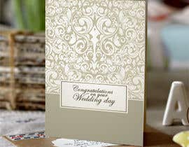 #4 untuk Design some Stationery for a Wedding Congratulations Card oleh Christina850