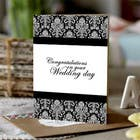 Contest Entry #21 for Design some Stationery for a Wedding Congratulations Card