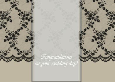 #6 for Design some Stationery for a Wedding Congratulations Card by luciacrin