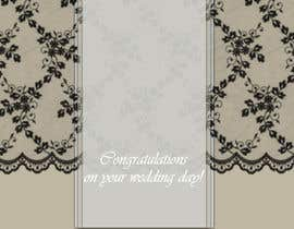 #6 para Design some Stationery for a Wedding Congratulations Card por luciacrin