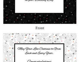 #40 para Design some Stationery for a Wedding Congratulations Card por LLInnovations