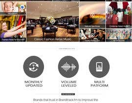 Nro 3 kilpailuun Improve the Design of a wordpress theme for a Music Website käyttäjältä gravitygraphics7