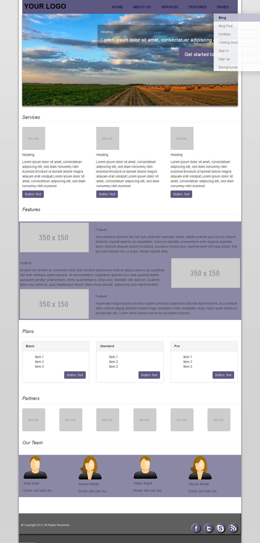 #5 for Design of one HTML page based on Bootstrap 3 by abhij33td3sai