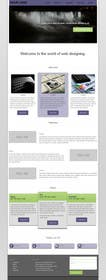 #6 for Design of one HTML page based on Bootstrap 3 by abhij33td3sai