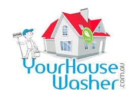 #12 para Design a Logo for yourhousewasher.com.au por darkemo6876