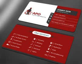 #32 for Design a Logo and Business Cards for Truck & Trailer Repair Company by ALLHAJJ17