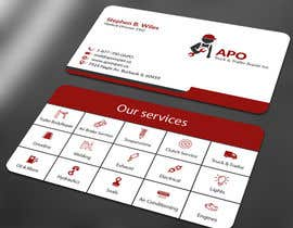 #37 for Design a Logo and Business Cards for Truck & Trailer Repair Company by ALLHAJJ17