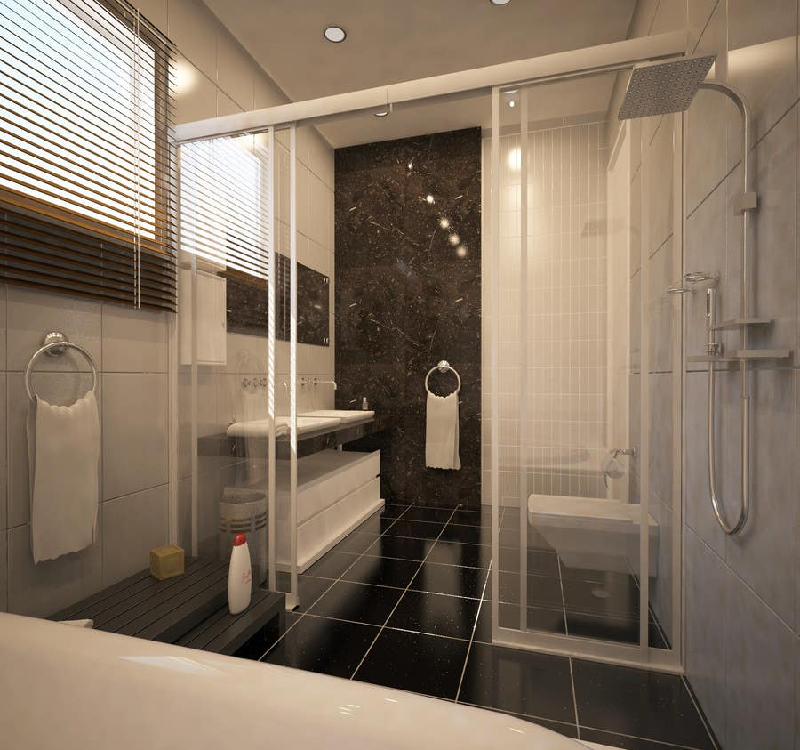 . Entry  19 by IsaacAbdalfatah for 4 x Bathroom interior Design