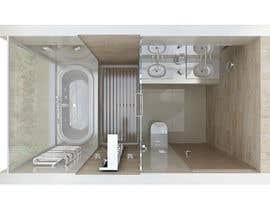 ricardoropain tarafından 4 x Bathroom interior Design için no 75