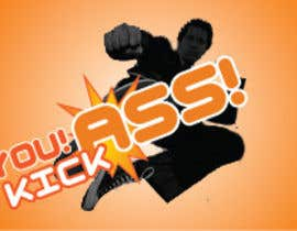 "#39 untuk Design a Logo for ""You Kick Ass"" oleh MuhammadKhan"
