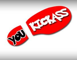 "fachrul8 tarafından Design a Logo for ""You Kick Ass"" için no 55"