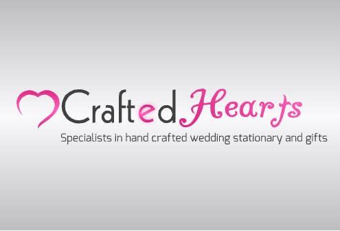 Kilpailutyö #10 kilpailussa Design a Logo for Crafted Hearts