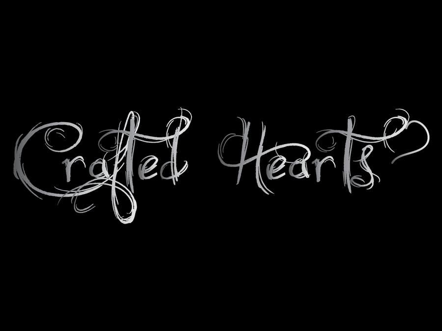 Contest Entry #5 for Design a Logo for Crafted Hearts