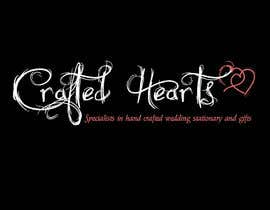 nº 75 pour Design a Logo for Crafted Hearts par Vanai