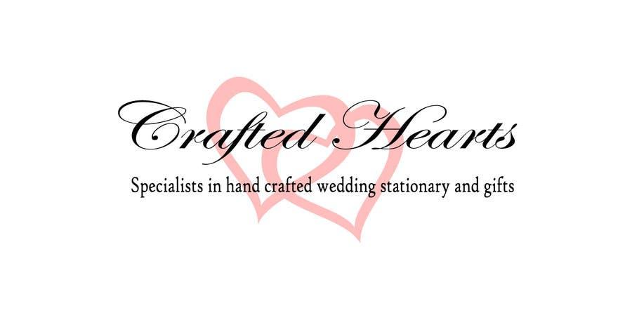 Kilpailutyö #4 kilpailussa Design a Logo for Crafted Hearts