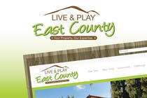 Graphic Design Konkurrenceindlæg #122 for Live and Play East County           / logo design for website