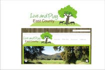 Graphic Design Konkurrenceindlæg #77 for Live and Play East County           / logo design for website