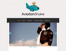 #13 for Create a Wordpress Site for AviationShake.com af Isdesign92