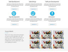 #19 cho I need a home page design for my webdevelopment firm bởi RuchiInfotechLtd