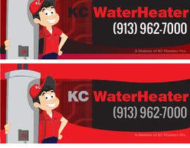 #12 for Design a Banner for KC Water Heater af dirak696